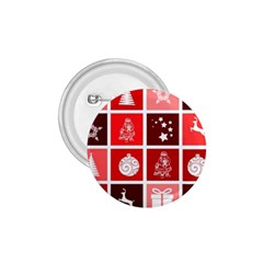 Christmas Map Innovative Modern 1 75  Buttons by BangZart