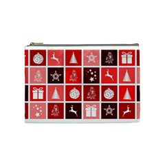 Christmas Map Innovative Modern Cosmetic Bag (medium)