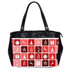 Christmas Map Innovative Modern Office Handbags (2 Sides)