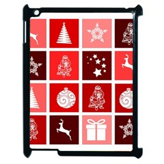 Christmas Map Innovative Modern Apple Ipad 2 Case (black)