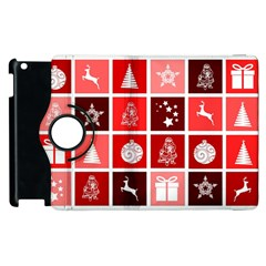 Christmas Map Innovative Modern Apple Ipad 3/4 Flip 360 Case