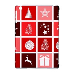 Christmas Map Innovative Modern Apple Ipad Mini Hardshell Case (compatible With Smart Cover) by BangZart