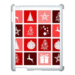 Christmas Map Innovative Modern Apple Ipad 3/4 Case (white)