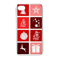 Christmas Map Innovative Modern Apple Iphone 4/4s Hardshell Case With Stand by BangZart
