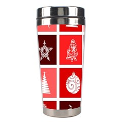 Christmas Map Innovative Modern Stainless Steel Travel Tumblers by BangZart