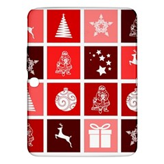 Christmas Map Innovative Modern Samsung Galaxy Tab 3 (10 1 ) P5200 Hardshell Case  by BangZart