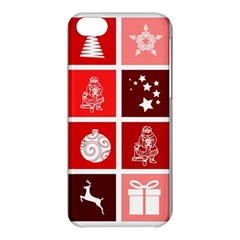 Christmas Map Innovative Modern Apple Iphone 5c Hardshell Case by BangZart