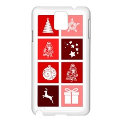 Christmas Map Innovative Modern Samsung Galaxy Note 3 N9005 Case (white)