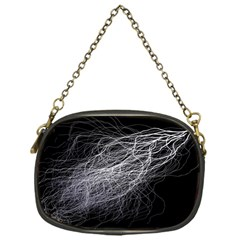 Flash Black Thunderstorm Chain Purses (one Side)