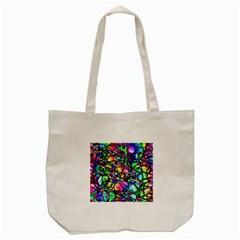 Network Nerves Nervous System Line Tote Bag (cream)