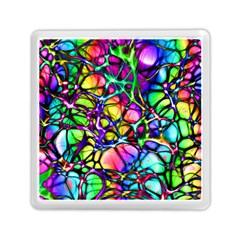Network Nerves Nervous System Line Memory Card Reader (square)