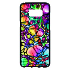 Network Nerves Nervous System Line Samsung Galaxy S8 Plus Black Seamless Case