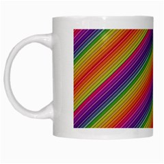 Spectrum Psychedelic White Mugs by BangZart