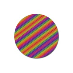 Spectrum Psychedelic Magnet 3  (round) by BangZart