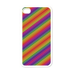 Spectrum Psychedelic Apple Iphone 4 Case (white) by BangZart