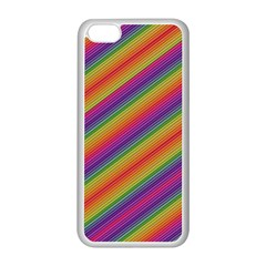 Spectrum Psychedelic Apple Iphone 5c Seamless Case (white) by BangZart