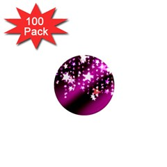 Background Christmas Star Advent 1  Mini Magnets (100 Pack)