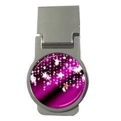 Background Christmas Star Advent Money Clips (round)  by BangZart