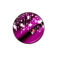 Background Christmas Star Advent Hat Clip Ball Marker (4 Pack) by BangZart