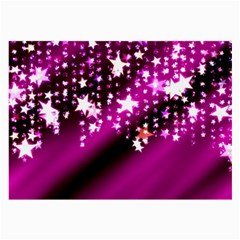 Background Christmas Star Advent Large Glasses Cloth (2 Side)