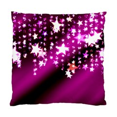 Background Christmas Star Advent Standard Cushion Case (two Sides) by BangZart
