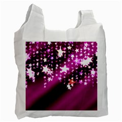 Background Christmas Star Advent Recycle Bag (one Side) by BangZart