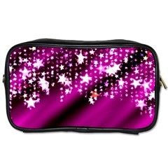 Background Christmas Star Advent Toiletries Bags