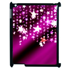 Background Christmas Star Advent Apple Ipad 2 Case (black)