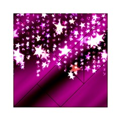 Background Christmas Star Advent Acrylic Tangram Puzzle (6  X 6 )