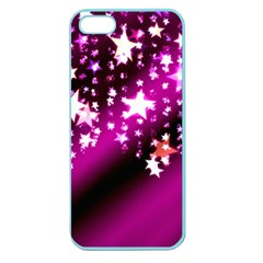 Background Christmas Star Advent Apple Seamless Iphone 5 Case (color)