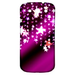 Background Christmas Star Advent Samsung Galaxy S3 S Iii Classic Hardshell Back Case by BangZart