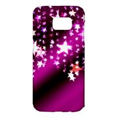 Background Christmas Star Advent Samsung Galaxy S7 Edge Hardshell Case
