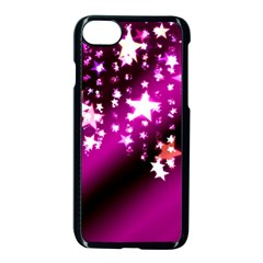 Background Christmas Star Advent Apple Iphone 7 Seamless Case (black) by BangZart