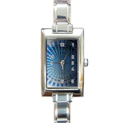 Data Computer Internet Online Rectangle Italian Charm Watch by BangZart