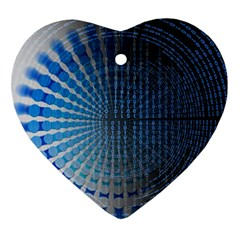 Data Computer Internet Online Ornament (heart)