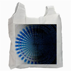 Data Computer Internet Online Recycle Bag (two Side)