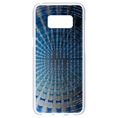 Data Computer Internet Online Samsung Galaxy S8 White Seamless Case
