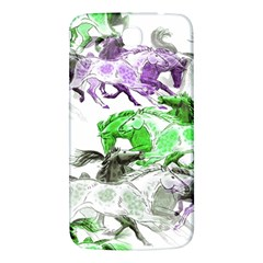 Horse Horses Animal World Green Samsung Galaxy Mega I9200 Hardshell Back Case