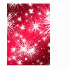 Christmas Star Advent Background Large Garden Flag (two Sides)