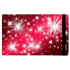 Christmas Star Advent Background Apple Ipad 3/4 Flip Case by BangZart