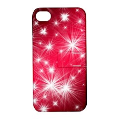 Christmas Star Advent Background Apple Iphone 4/4s Hardshell Case With Stand by BangZart