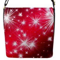 Christmas Star Advent Background Flap Messenger Bag (s) by BangZart