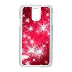 Christmas Star Advent Background Samsung Galaxy S5 Case (white)