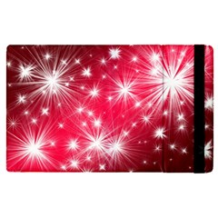 Christmas Star Advent Background Apple Ipad Pro 12 9   Flip Case by BangZart
