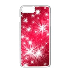 Christmas Star Advent Background Apple Iphone 7 Plus Seamless Case (white) by BangZart