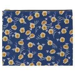 Golden Roses Cosmetic Bag (xxxl)  by jumpercat
