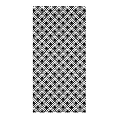 Geometric Scales Pattern Shower Curtain 36  X 72  (stall)  by jumpercat