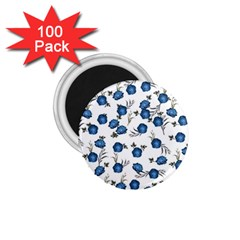 Blue Roses 1 75  Magnets (100 Pack)  by jumpercat