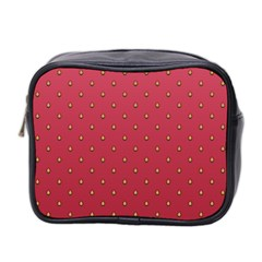Strawberry Pattern Mini Toiletries Bag 2 Side by jumpercat