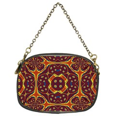 Geometric Pattern Chain Purses (two Sides)  by linceazul